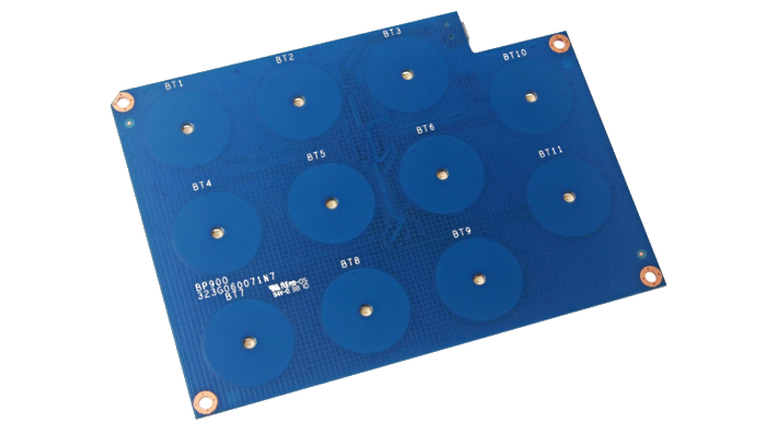 USB 11-Button Panel (Blue)